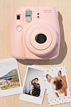 I want this camera so so bad. Instax mini 8 from Fujifilm.