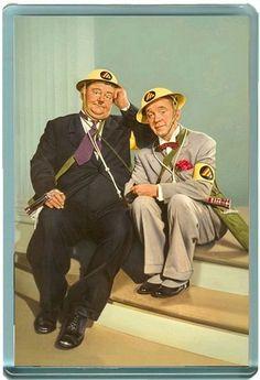 Laurel & Hardy ~ Air Raid Wardens