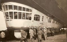 Graf Zeppelin Main Car. It housed the control cabin, the passenger zone and the crew quarters.