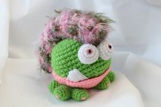 Ravelry: TBoutiqueCritters' Mowhawk Mama Gumball Dragon