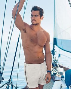 David Gandy for Marks & Spencer: Gandy For Autograph Swimwear Collection (Spring/Summer 2016)
