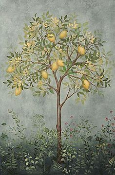 Cutting Edge Stencils - Large Citrus Tree Stencil