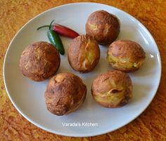 Varada's Kitchen: Batata Vada in Appe Pan (Not deep Fried)