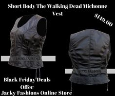 Short Body #TheWalkingDead #Michonne #LeatherVest For Women at #onlinestore Jacky Fashion Discounted Price #BlackFridayDeals Offer at Just Only $149.00  #Fashionable #Fashion #Style #Modern #Designer #MenFashion #Fashionista #MenStyle #Male # FashionBlog #FashionBlogging #FashionKids #Stylish #FashionStyle #Vintage #DressUp #Collection #Outfit #menswear #fashionlover #fashionhub #clothing #clothes #celebs #heros #fashion #celebrities #amazon #usafashion