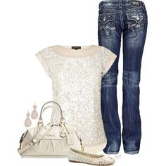 """""""sparkling champagne"""" by fluffof5 on Polyvore"""