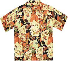 vintage hawaiian shirt back