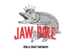 Approved as final, logo design for craft brewery Jaw Pike