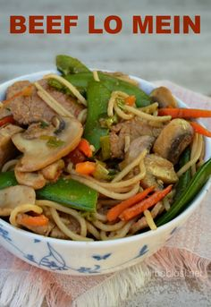 No need for take outs ! Make this easy homemade Beef Lo Mein and serve within 20 minutes
