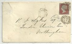 * 1850 TOO LATE LONDON COVER UNION ASSURANCE WAFER SEAL EXTRA =5= NUMERAL STRIKE   eBay