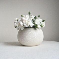 California Originals Round Pottery Vase by BarkingSandsVintage
