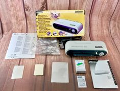 FELLOWES Photo ID Office Pro Heat Plastic Wrap Business ID Card Laminator Plastic Wrap, Business, Cards, Ebay, Maps, Playing Cards