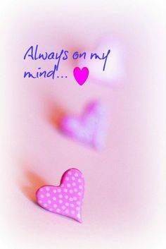 Always on my mind... My mom and my dad!   Sending them my love every day not just on Mother's or Father's Day!     Aline ♥