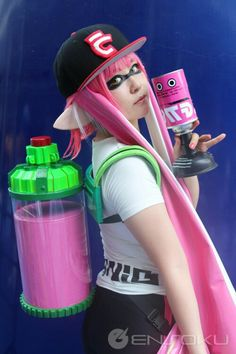 Splatoon cosplay - COSPLAY IS BAEEE! Tap the pin now to grab yourself some BAE Cosplay leggings and shirts! From super hero fitness leggings, super hero fitness shirts, and so much more that wil make you say YASSS! Epic Cosplay, Casual Cosplay, Cosplay Outfits, Cosplay Girls, Cosplay Costumes, Halloween Costumes, Anime Cosplay, Cosplay Ideas, Splatoon Costume