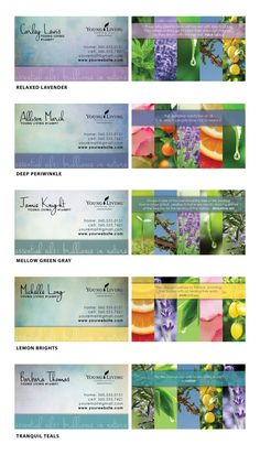 Young Living business card template | Essential Oils | Pinterest ...