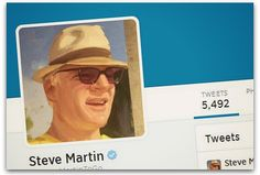 5 Twitter tips from Steve Martin | Articles | Main