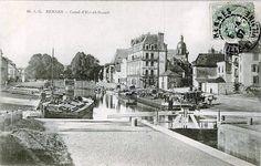 RENNES - Canal d'Ille-et-Vilaine