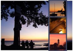 #Sonnenuntergänge am #Bodensee Celestial, Sunset, Nature, Outdoor, Beautiful, Feng Shui Garden, Water, Places, Vacation
