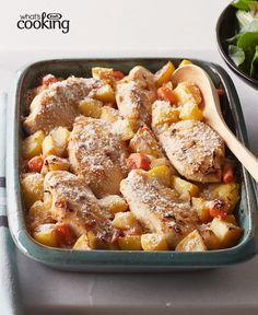 Chicken, Potato and Vegetable Bake #recipe