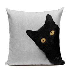 Huggable Cats Throw Pillow Covers - 13 Patterns : Are you a cat lover? - Huggable Cats Throw Pillow Covers – 13 Patterns : Are you a cat lover? Need more felines in your - Chair Cushion Covers, Cat Cushion, Throw Pillow Covers, Baby Pillows, Linen Pillows, Arrow Pillow, Cat Quilt, Cat Pillow, Sewing Pillows