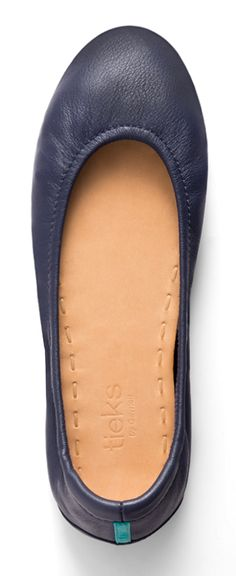 For an effortless and elegant look, mix it up with California Navy Tieks!
