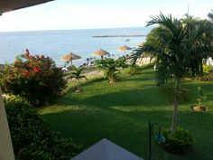 View from beachfront room