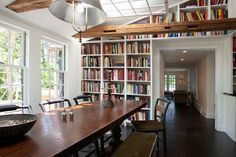 River Road Cottage - contemporary - dining room - philadelphia - Sullivan Building & Design Group