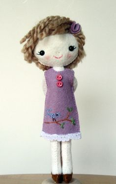 waldorf inspired doll for Emmy
