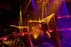 Atmospheric Acrobats wow guests at Omnia Nightclub in Las Vegas! Las Vegas Events, Event Management Company, Nightclub, Chicago, Scene, Concert, Concerts, Stage
