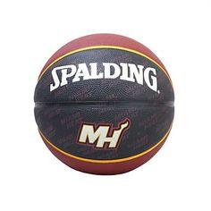 Rebel Sport - Spalding NBA Miami Heat Basketball Size 7