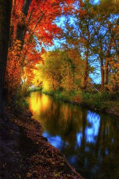 Inspirational Autumn Scene