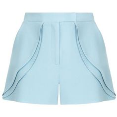 Add these smart tailored Elie Saab shorts to your new season wardrobe for an alternative to the classic mini skirt. Accented by ruffle detailing to the hips, … Lace Trim Shorts, Ruffle Trim, Elie Saab, Lace Short Outfits, Short Skirts, Short Dresses, Look Con Short, Tailored Shorts, Fashion Clothes
