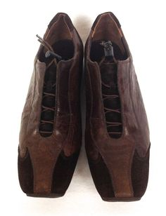 Paul Green Shoes Womens Brown Leather Oxfords 9.5 #PaulGreen #Oxfords #WalkingHiking