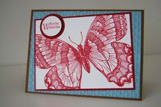 Stampin' up Swallowtail