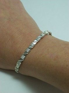 Simply Wire-Wrapped Bracelet http://www.artfire.com/ext/shop/product_view/freshstringbeads/98995/donation_for_julie_ann_-_simply_skinny_ss_wire_wrapped_bracelet_srajd/handmade/jewelry/bracelets/wire_wrapped