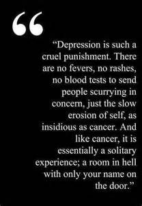 quotes with pictures about depression - Yahoo Search Results