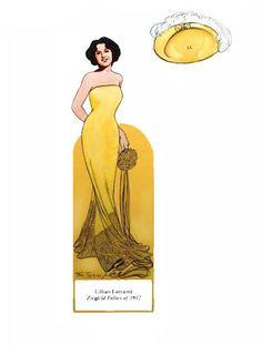 Ziegfeld girls - Nena bonecas de papel - Picasa Web Albums