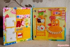 . СП книга-дом для куклы