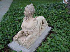 Hillwood Estate gardens (Ken_Mayer) Tags: sculpture bike bicycle statue sphinx geotagged dc washington ride social sfinx seersucker hillwoodestate geo:lat=38943519 geo:lon=77052682