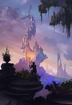 Lava Castle by Alexandra | Fantasy | 2D | CGSociety