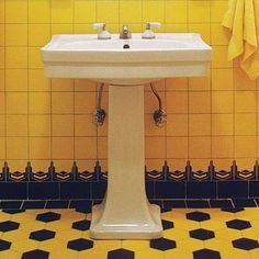 Photo: Fritz Van Der Schulenburge/The Interior Archive | thisoldhouse.com | from How to Create a Modern Bath in a Vintage Style