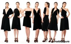 Платье одно-вариантов много / выкройка на платье