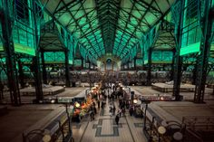 The Green Market Hall by Filip Nystedt on 500px
