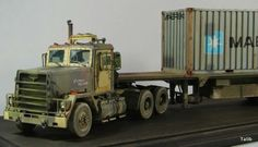Heavy Truck Model by Anton Melnikov