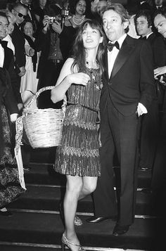 The effortless, Parisian tomboy style of Jane Birkin. #RandM approved.