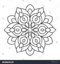 Free online vector and photo editing using the Easy Ma vector, in Shutterstock Editor. Find and edit vectors easily for all of your projects. Mandala Drawing, Mandala Painting, Mandala Tattoo, Dot Painting, Mandala Art, Mandala Coloring Pages, Colouring Pages, Printable Coloring Pages, Coloring Books