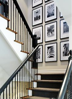 How to Hang a Symmetrical Gallery Wall with your portraits | Barrie Portrait Photographer