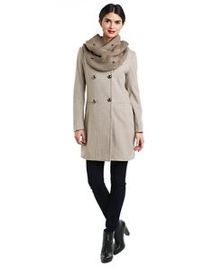 """Some of you have to get in on this: Twinkle by Wenlan """"Knight"""" Beige Wool-Blend Coat"""