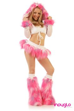 2874acc7f Cluster Pink, White and Lilac Pogo Outfit - £69.99 - Only from Indyglo.