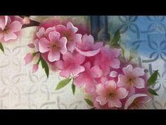 PROJETO   PINTURA COM STENCIL - CEREJEIRA COM PÁSSARO   13.04.17   MAYUMI TAKUSHI - YouTube