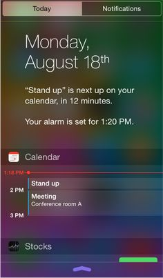 iOS | notifications